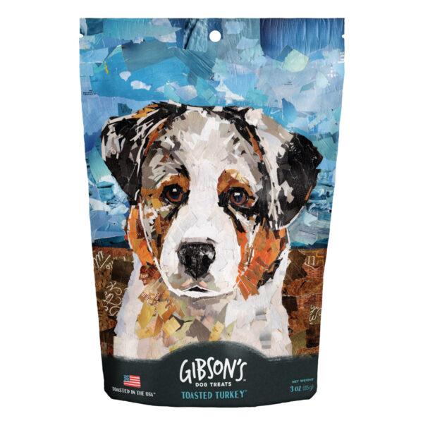 Gibson's Toasted Turkey Jerky Dog Treats