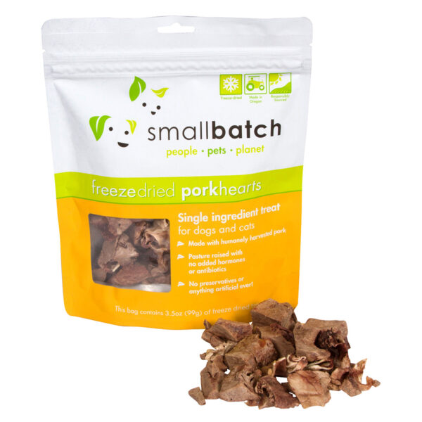 smallbatch Freeze-Dried Pork Hearts