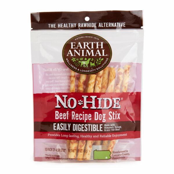 Earth Animal No-Hide Beef Stix