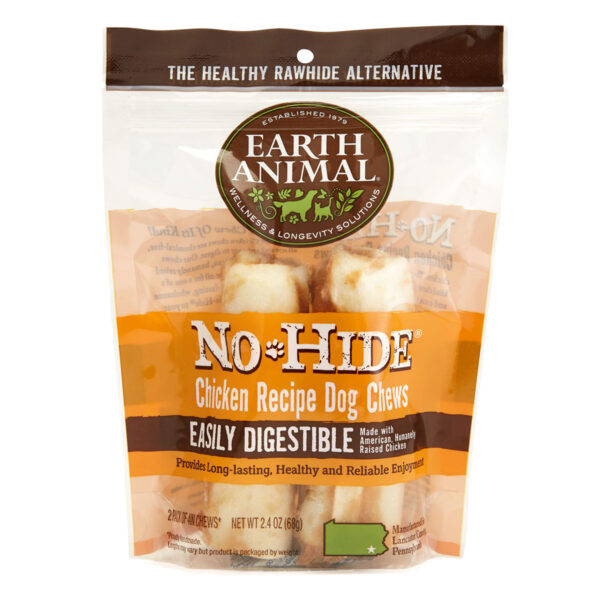 Earth Animal No-Hide Chicken Chew - Small 2 pack