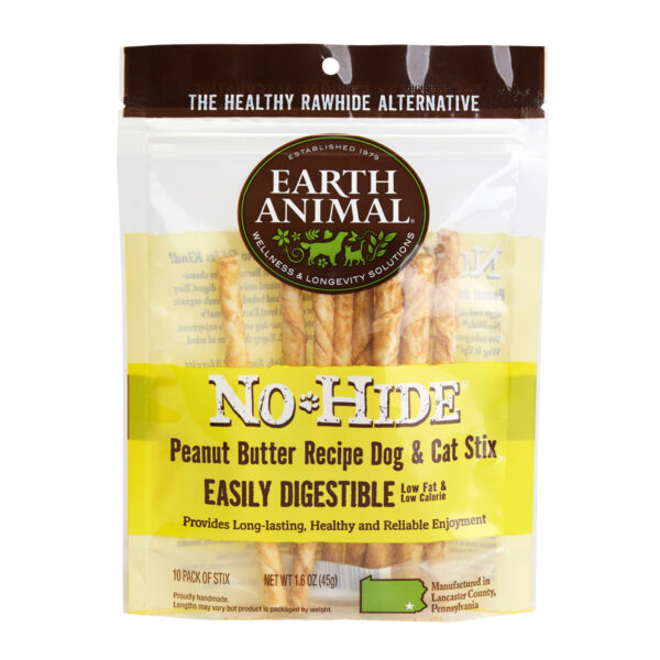 Earth Animal No-Hide Peanut Butter Stix
