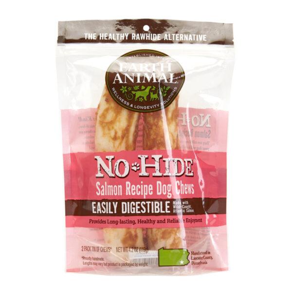 Earth Animal No-Hide Salmon Chew - Medium 2 pack