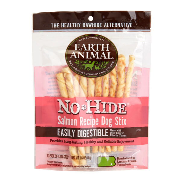 Earth Animal No-Hide Salmon Stix