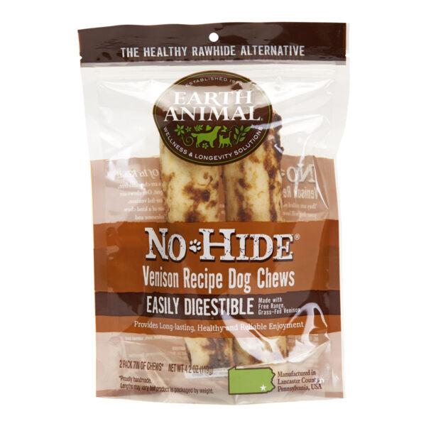 Earth Animal No-Hide Venison Chew - Medium 2 pack
