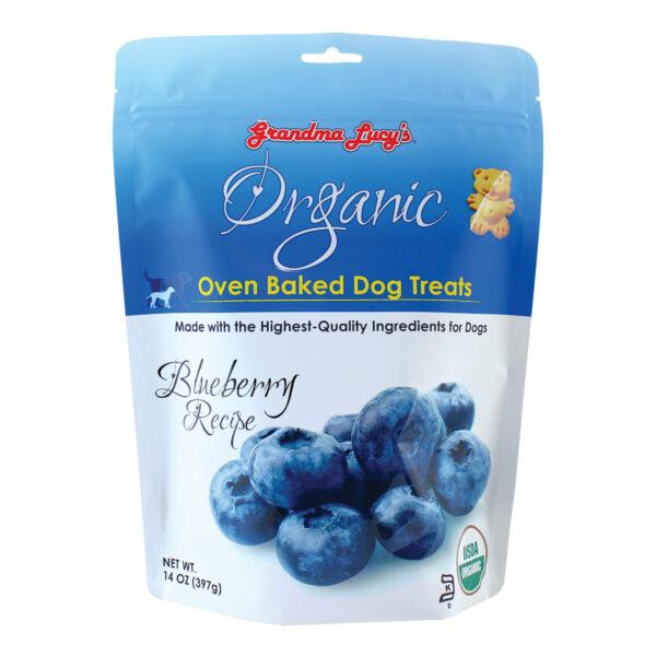Grandma Lucy's Organic Oven Baked Blueberry Dog Treats