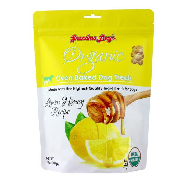 Grandma Lucy's Organic Oven Baked Lemon Honey Dog Treats