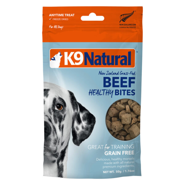 K9 Natural Freeze Dried Beef Healthy Bites