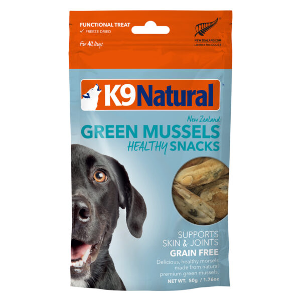 K9 Natural Freeze Dried Green Mussels Healthy Snacks