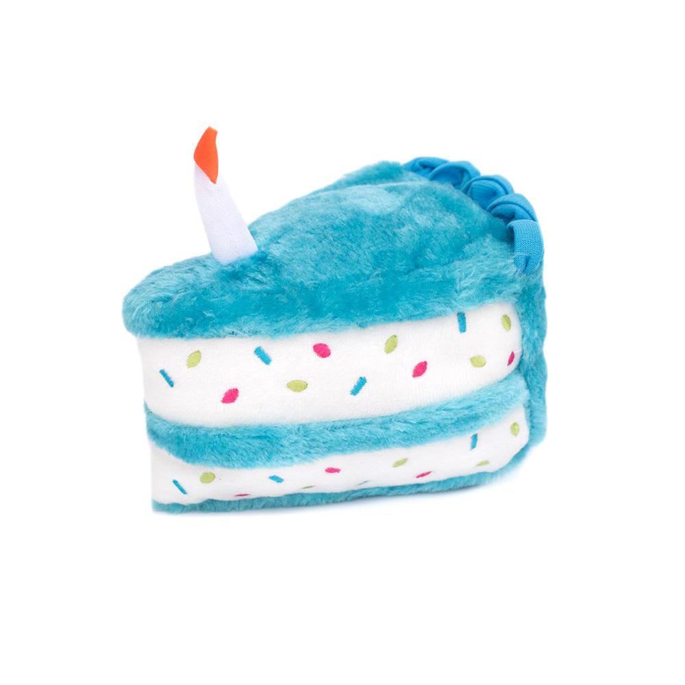 ZippyPaws Blue Birthday Cake