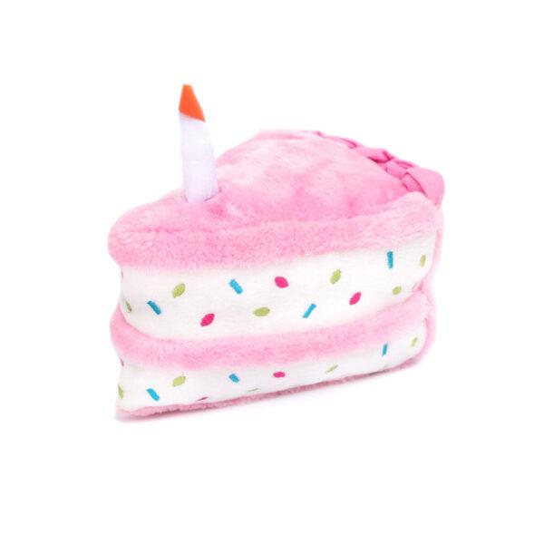 ZippyPaws Pink Birthday Cake