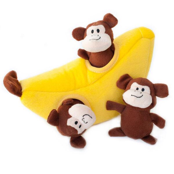 ZippyPaws Burrow - Monkey 'n Banana
