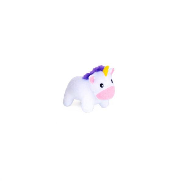 ZippyPaws Burrow - Unicorns in Rainbow Miniz (single)