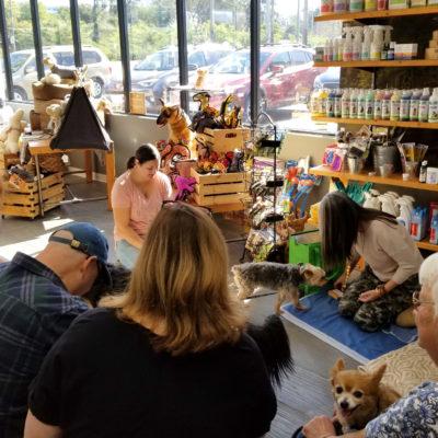 Animal Spirituality Class by Sama Dog at Hala's Paws