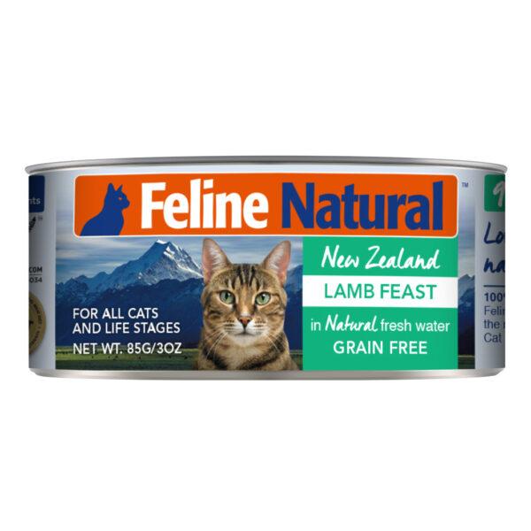 Feline Natural Can Lamb Feast Cat Food (3oz)