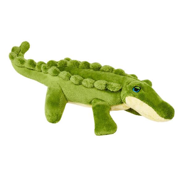 Fluff & Tuff Savannah Gator Baby Dog Toy