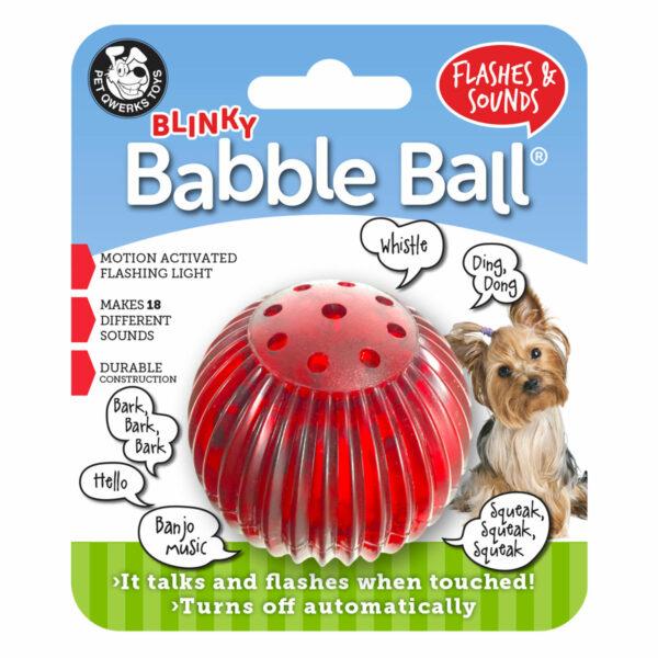 Pet Qwerks Blinky Babble Ball (small)