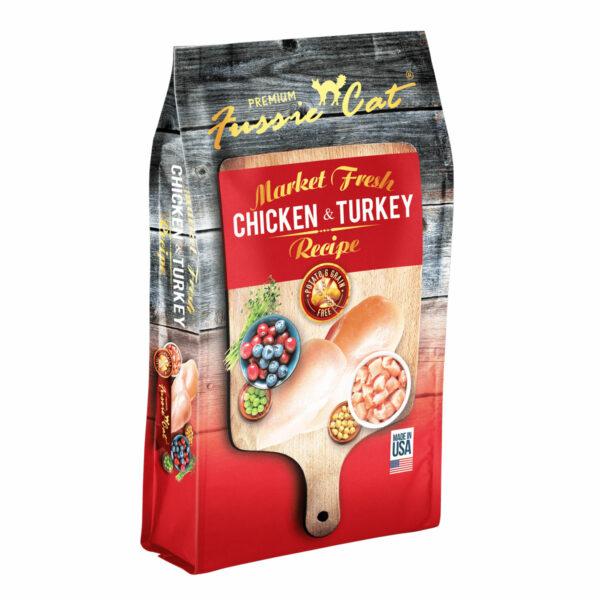Premium Fussie Cat Market Fresh Chicken & Turkey Recipe Dry Cat Food