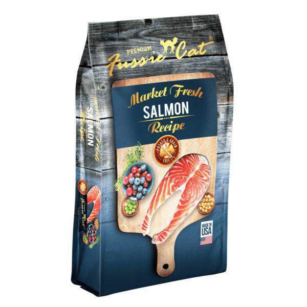 Premium Fussie Cat Market Fresh Salmon Recipe Dry Cat Food