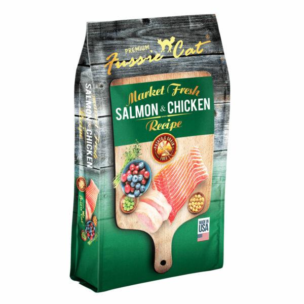 Premium Fussie Cat Market Fresh Salmon & Chicken Recipe Dry Cat Food