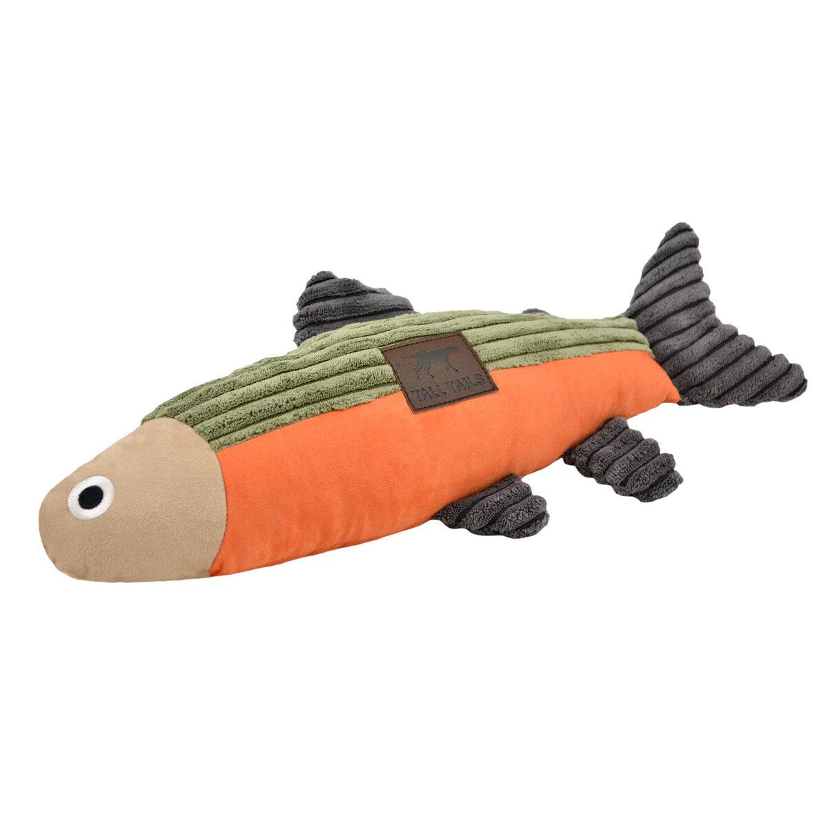 Tall Tails Plush Fish Dog Toy