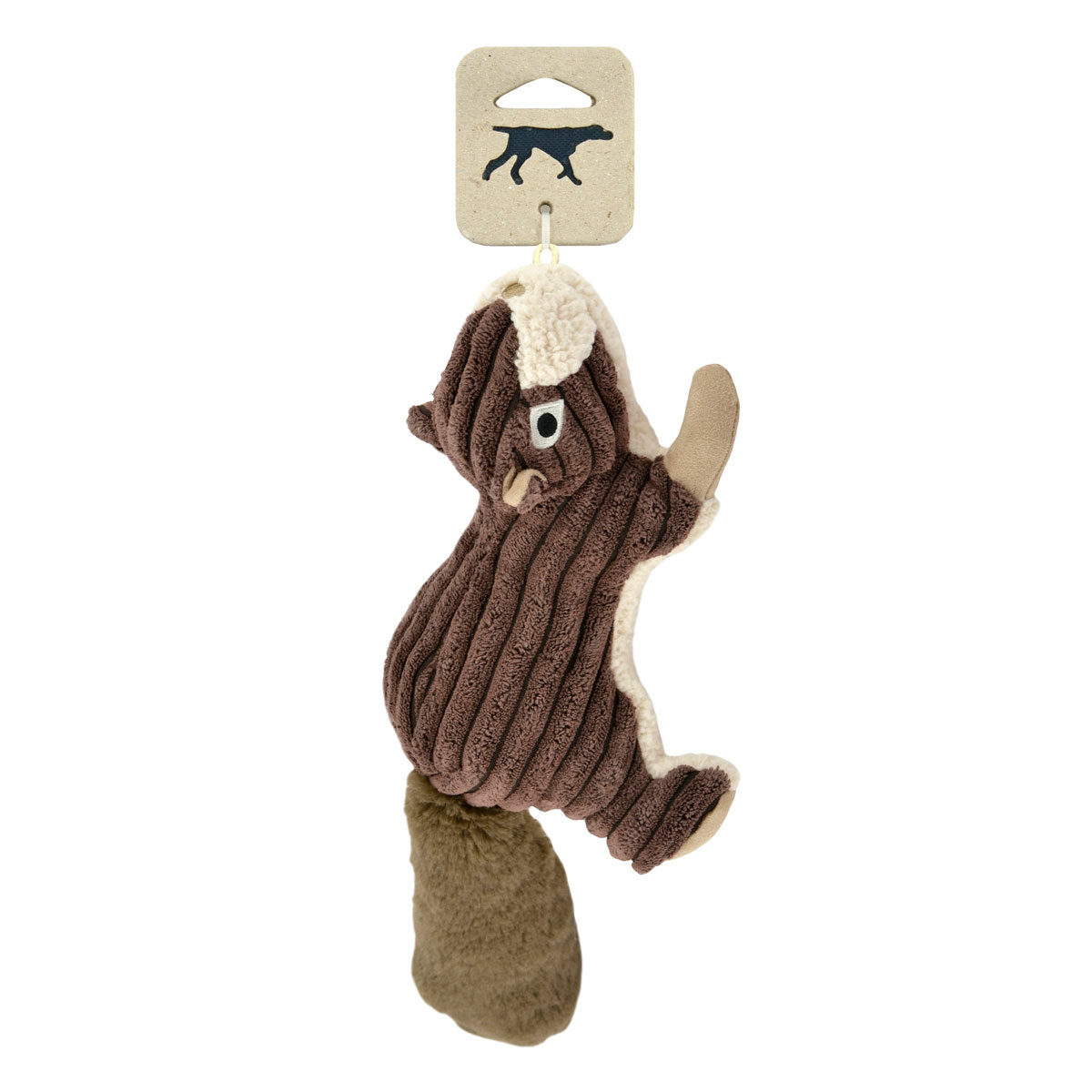 Tall Tails Plush Squirrel Dog Toy