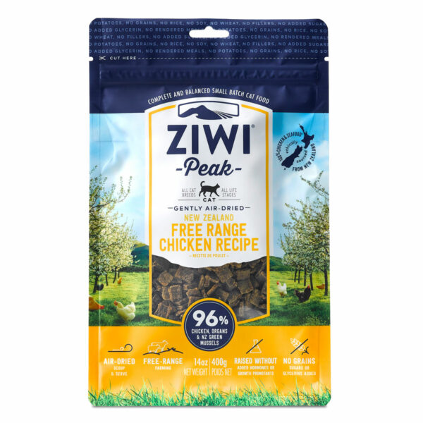 Ziwi Peak Cat Air-Dried Free Range Chicken Recipe (14oz)