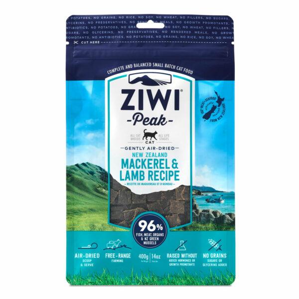 Ziwi Peak Cat Air-Dried Mackerel & Lamb Recipe (14oz)