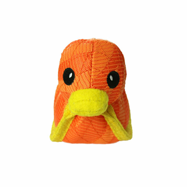 Duraforce Characters Orange Duck Dog Toy