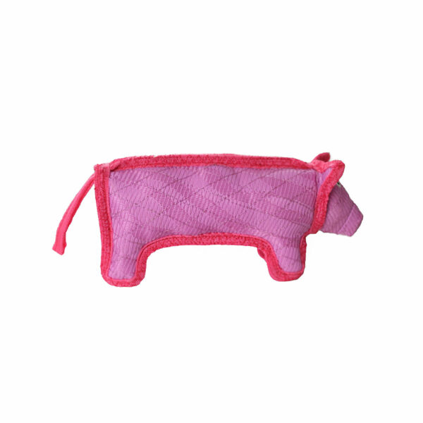 Duraforce Characters Pink Pig Dog Toy