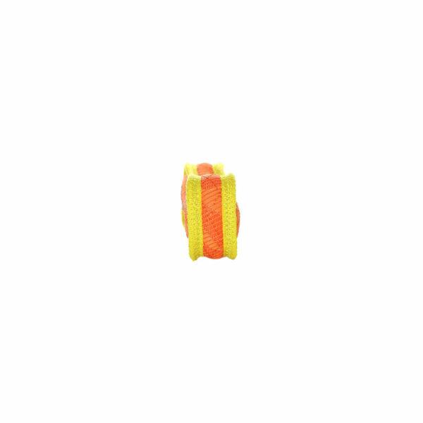 Duraforce JR Bone Orange Yellow Dog Toy