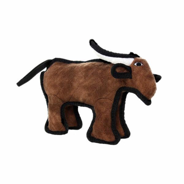 Tuffy JR Barnyard Bull Dog Toy