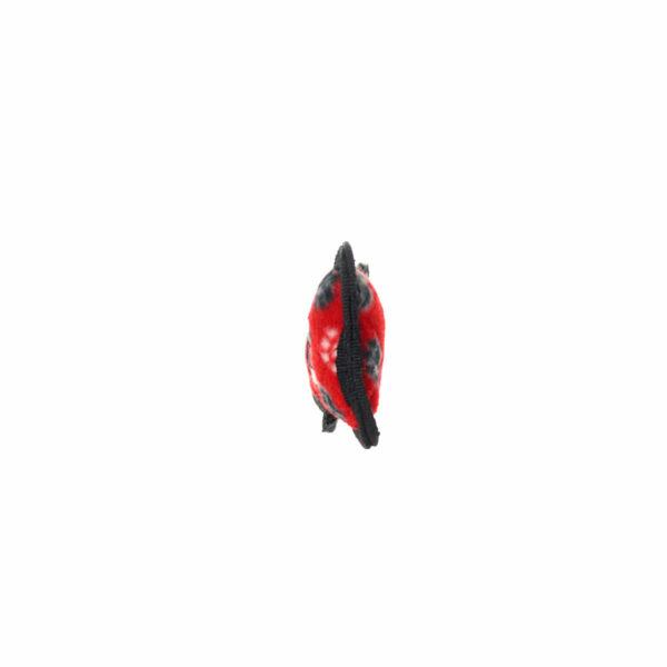 Tuffy JR Bone Red Paw Dog Toy
