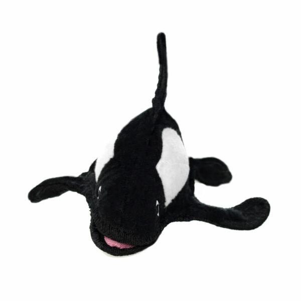 Tuffy Ocean Killer Whale Dog Toy