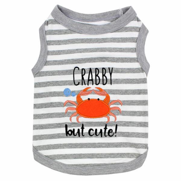 Parisian Pet Crabby But Cute Tee