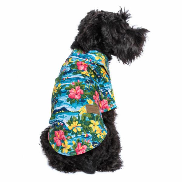 Parisian Pet Hawaiian Camp Shirt