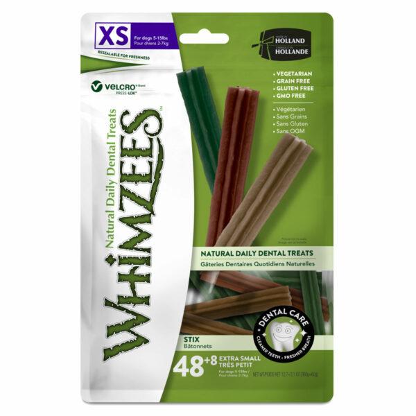 Whimzees Dental Chews Stix (XS 56pc bag)