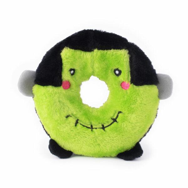 ZippyPaws Halloween Donutz Frankenstein