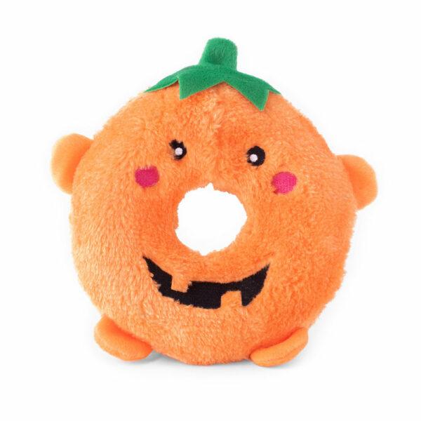 ZippyPaws Halloween Donutz Pumpkin