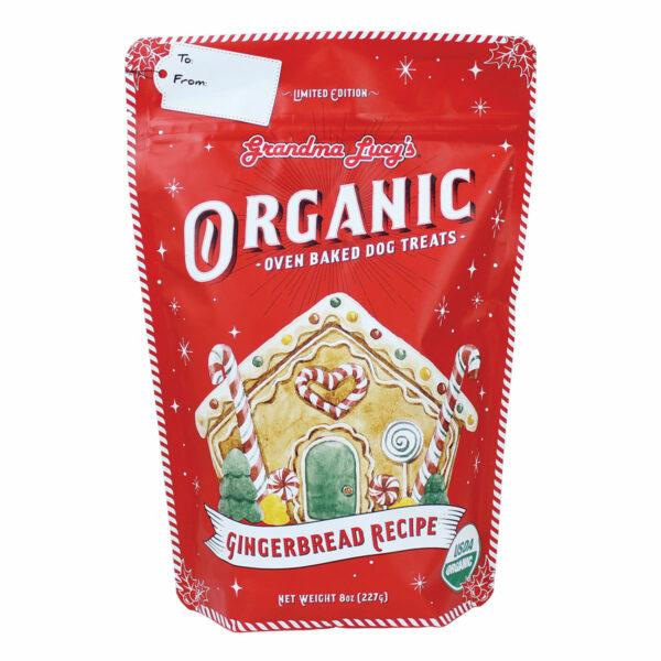 Grandma Lucy's Organic Oven Baked Gingerbread Dog Treats