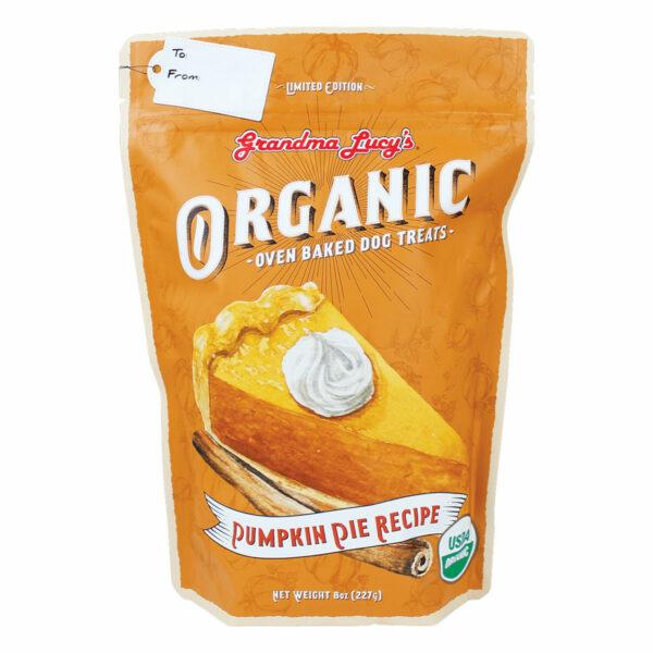 Grandma Lucy's Organic Oven Baked Pumpkin Pie Dog Treats