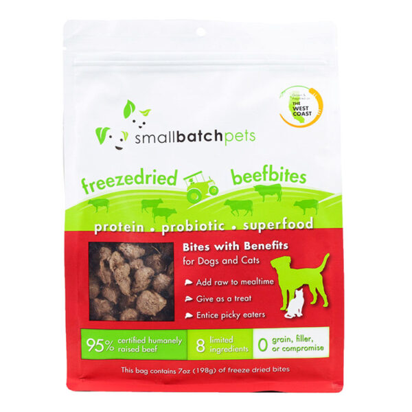 smallbatch Freeze-Dried Beef Bites