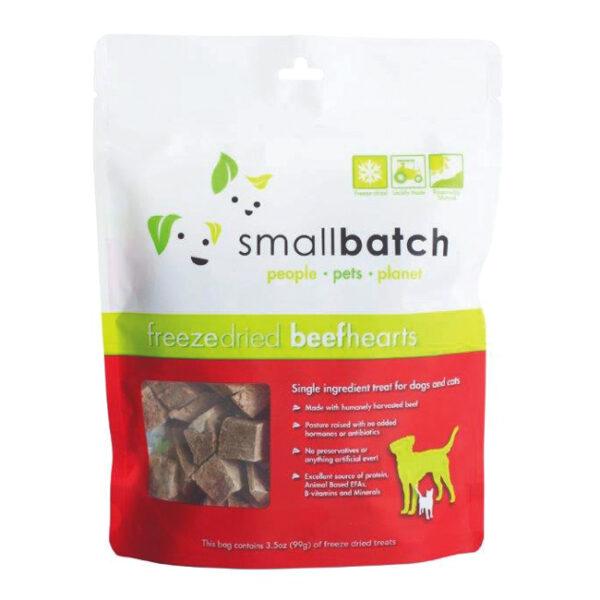 smallbatch Freeze-Dried Beef Hearts
