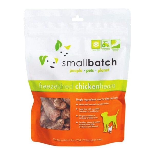 smallbatch Freeze-Dried Chicken Hearts