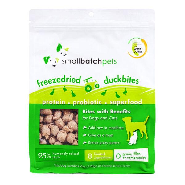smallbatch Freeze-Dried Duck Bites