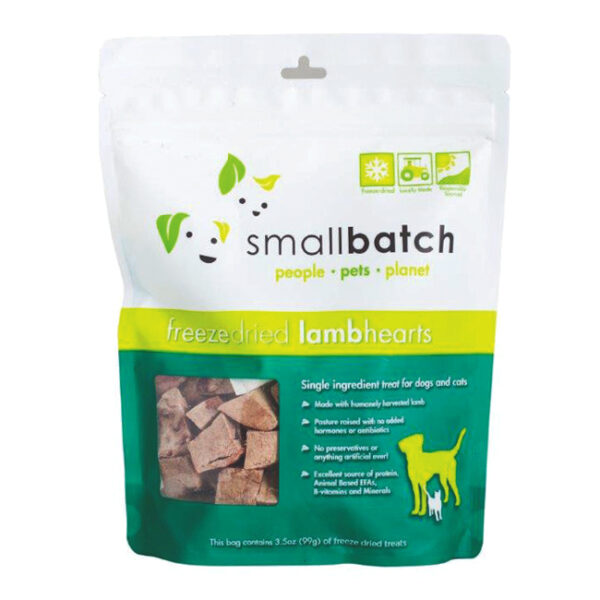 smallbatch Freeze-Dried Lamb Hearts